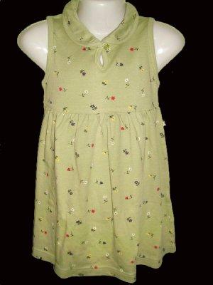 CW127: 4T Mc Kids S/Sleeve Collared Dress