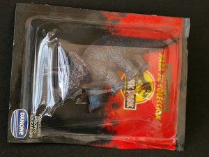 Triceratops dinosaur by Danone official Jurassic Park Spain. Sealed.