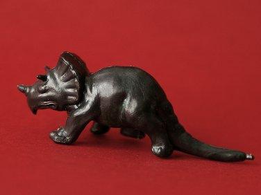 Triceratops figurine by Nabisco, Lido, Fritos. Dinosaur. Dinosaurio