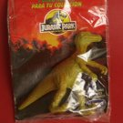 Velociraptor dinosaur by Danone official Jurassic Park Spain. Sealed
