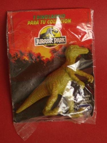 Velociraptor dinosaur by Danone official Jurassic Park Spain. Sealed