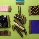 Bronze Ribbon Clamps Ribbon Crimp Ends Shipped from USA