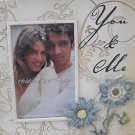 "NEW VIEW ""YOU & ME"" 4"" X 6"" PHOTO FRAME  NEW"