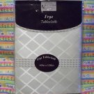 VICTORIAN CLASSICS FRYE BEIGE CREAM OBLONG 60 x 120TABLECLOTH  NIP