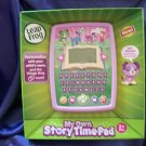 LEAPFROG MY OWN STORYTIME PAD PURPLE USB CABLE LEARNING FUN PRIORITY SHIP NIB