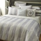 SEAN JOHN 3 PC IBIZA FULL QUEEN SIZE COMFORTER SET W/ SHAMS IN  GRAYS NIP
