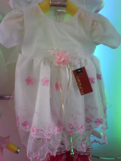 Nice full dress, organza fabric (1)- Brand New (KS020)