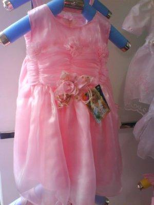 Cute sweet dress , oganza fabric (2) - Brand new (KS019)