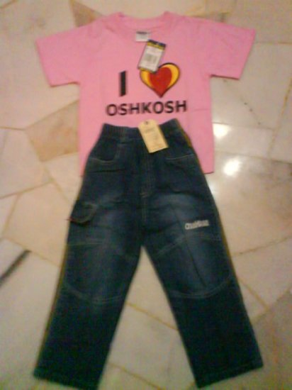 Oshkosh - pair for girls (KS006PP)