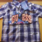 Guess shirt coler -blue, brand new (KS040)