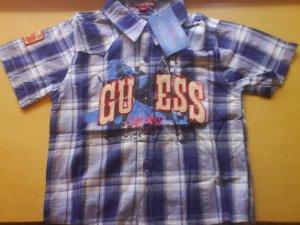 Guess shirt coler -blue, brand new (KS040)