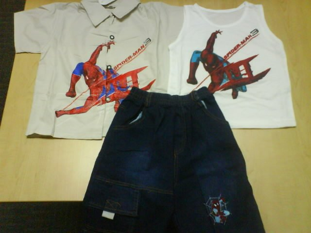 Brand New - Spiderman set 3 in 1 (KS050)