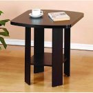 Furinno End Table Office Furniture Desk Table Espresso Easy Assembly