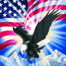 Eagle with Flag, Q937