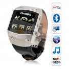 K12 Quad Band Bluetooth Touch Screen Watch Phones silver