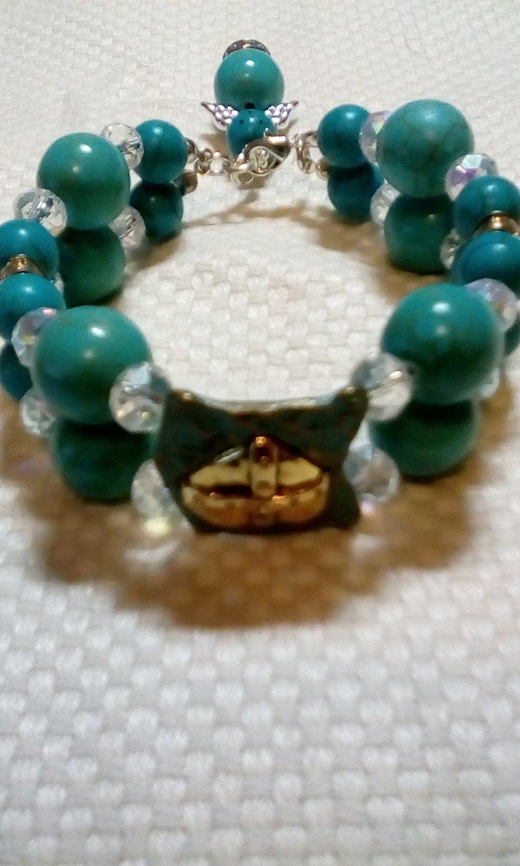 Torqoise Cross Bracelet