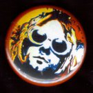 Psychedelic Kurt Cobain  pinback button badge 1.25""