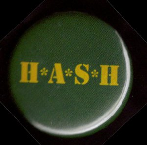 H*A*S*H  pinback button badge 1.25""