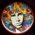 Psychedelic Jim Morrison  pinback button badge 1.25""