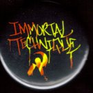 IMMORTAL TECHNIQUE Logo  pinback button badge 1.25""