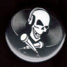 MUSIC PIRATE pinback button badge 1.25""