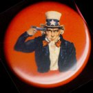 UNCLE SAM SUICIDE  pinback button badge 1.25""