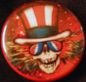 1 GRATEFUL DEAD #1 pinback button badge 1.25""