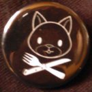 1 PUSSY PIRATE pinback button badge 1.25""