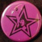 "1 FEMINIST STAR pinback button badge 1.25"""