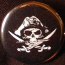 1 PIRATE #1 pinback button badge 1.25""