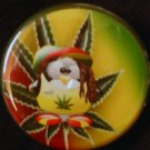 1 RASTA PENGUIN pinback button badge 1.25""