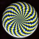 1  MAGIC EYE SPIRAL pinback button badge 1.25""