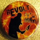 REVOLT! #2 pinback button badge 1.25""