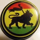 RASTA - LION OF JUDAH #1 pinback button badge 1.25""