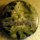 MARIJUANA MASTER KUSH pinback button badge 1.25""
