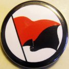 ANARCHO-SYNDICALYST FLAG pinback button badge 1.25""