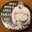 WHAT WOULD CHRIS FARLEY DO?  pinback button badge 1.25""