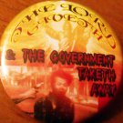 THE LORD GIVETH & THE GOVERNMENT TAKETH AWAY pinback button badge 1.25""