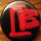 POPE ON A ROPE pinback button badge 1.25""