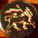 RASTA LION OF JUDAH #2 pinback button badge 1.25""