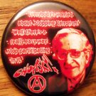 NOAM CHOMSKY pinback button badge 1.25""