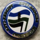 "ANTI FASCIST ANTI ECOCIDE CASCADIA pinback button badge 1.25"""