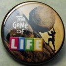 THE GAME OF LIFE -  SISYPHUS pinback button badge 1.25""