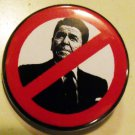 ANTI-REAGAN pinback button badge 1.25""