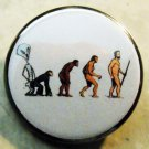 EVOLUTION pinback button badge 1.25""