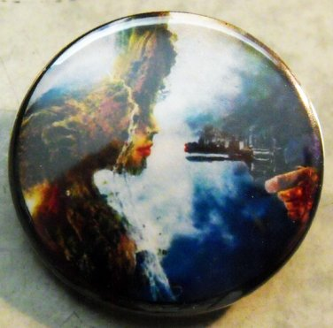 INDUSTRY KILLS pinback button badge 1.25""