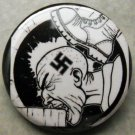 CURB-STOMP NAZIS pinback button badge 1.25""