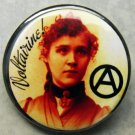 VOLTAIRINE DE CLEYRE pinback button badge 1.25""