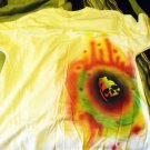 One of a kind XL air-brushed skull grenade T-shirt - prewashed and new