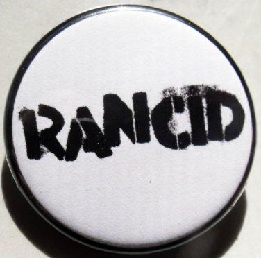 "RANCID pinback button badge 1.25"""
